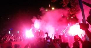 Hrvatski navijači iz Stuttgarta