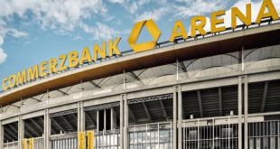 Vanjksi pogled na stadion Commerzbank Arena / Foto: FM