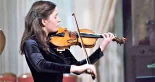 Violinistica Karla Križ. Foto: Fenix-magazin/Privatni album