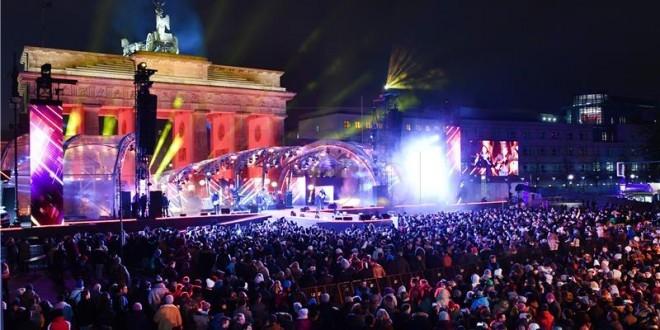 Navijačka Fan zona u Berlinu se nalazi i ispred Brandenburških vrata / Foto: Fenix Magazin