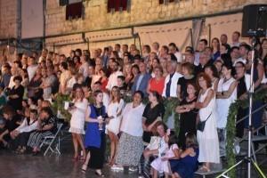 Publika na otvaranju Dubrovačkih ljetnih igara / Foto: Hina