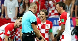 Ivan Rakitić, Luka Modrić, Mario Mandžukić/Foto:Hina