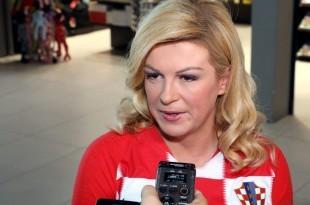 Predsjednica Kolinda Grabar Kitarović / Foto: Hina