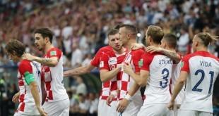 Nogometaši Hrvatske / Foto: Hina