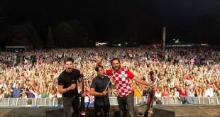 2CELLOS u hrvatskom dresu usred Londona! / Foto: Facebook