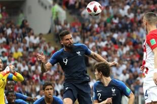 Finalna utakmica Svjetskog nogometnog prvenstva Rusija 2018 između reprezentacija Francuske i Hrvatske na stadionu Lužnjiki / Foto: Hina