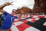 Hrvatski navijaci u Moskvi (1)
