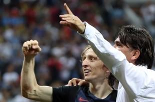 Luka Modrić i Zlatko Dalić / Foto: Hina