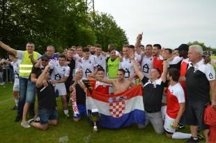 Osvajači kupa, Croatia Reutlingen. Foto: Bono Žepić