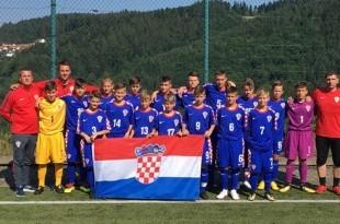 U-13 momčad HSK Njemačke sa svojim trenerima / Foto:Fenix