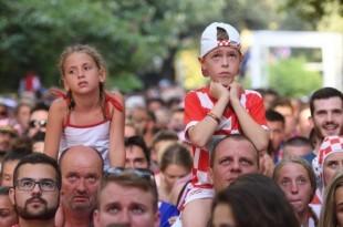 Navijači u Splitu / Foto: Hina