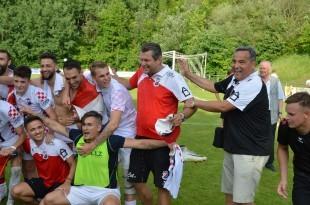 Trener Michnia i predsjednik Šolić iz  Cro Reutlingen