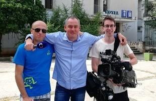 Češki novinari u Zadru. Foto: Fenix-magazin