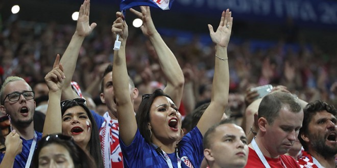Slavlje navijača/Foto: Hina