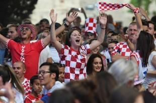 Hrvatski navijači/ Foto: Hina/Ilustracija