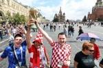 SP Rusija: Hrvatski navijači na Crvenom trgu
