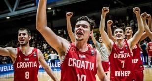 Hrvatska košarkaška U20 reprezentacija. Foto. Hrvatski košarkaški savez
