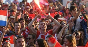 Navijači u Splitu/Foto: Hina