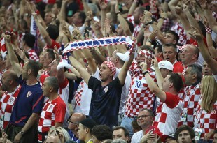 Navijači Hrvatske/ Foto Hina