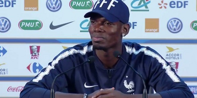 Francuski veznjak Paul Pogba/Foto: Screenshot/Youtube