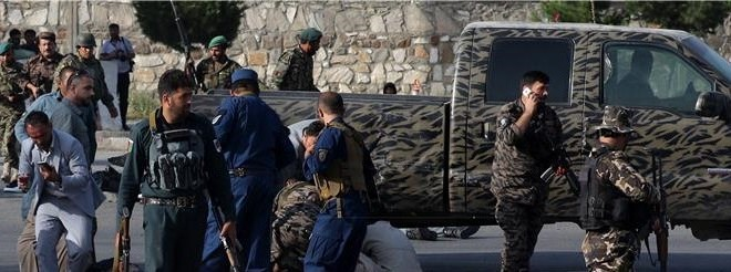 Bombaški napad u Kabulu. Foto: Hina