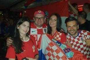 Fotografija hrvatskih navijača iz Stuttgarta Foto: Marko Kopić/Fenix-magazin