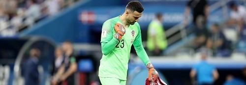 Danijel Subašić je junak utakmice. Foto: Hina