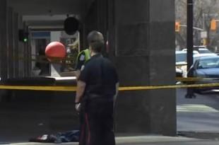 Policija je priopćila da je ubojica mrtav. Foto. Screnshoot