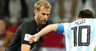 Ivan Strinić na SP u Rusiju u utakmici protiv Argentine / Foto: Hina