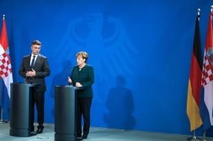 Premijer Plenković prigodom svog nastupnog posjeta Berlinu / Foto: Hina