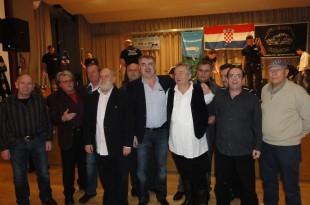 UO NK Marsonia na jednom klupskom slavlju. B. Marš je treći s lijeva/Foto: B. Žepić