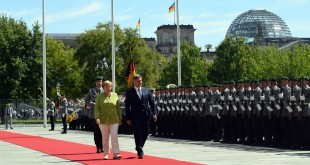 Merkel i Zvizdić razgovarali u Berlinu/Foto: VM BiH