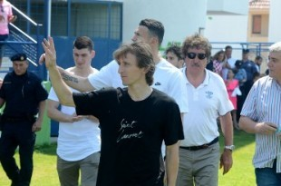 Luka Modrić. Foto: Hina