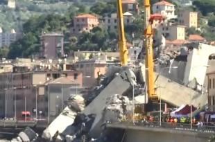 Bojazan zbog ''još 10 do 20 nestalih'' pod ruševinama vijadukta u Genovi/Foto: Screenshot/Youtube
