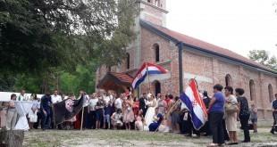 Vjenčali su se Ivana Crnoja, rođena u Njemačkoj, čiji su roditelji iz Liskovice i Dominik Krišto iz župe Vidoši kod Livna, koji također živi u Njemačkoj.