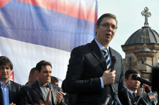Srbijanski predsjednik Aleksandar Vučić. Foto: Hina