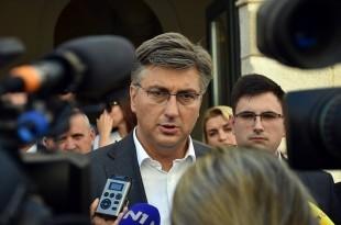 Premijer Andrej Plenković/Foto: Hina