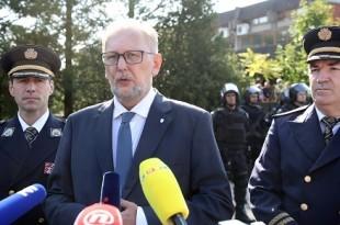 Ministar unutarnjih poslova Davor Božinović /Foto: Hina