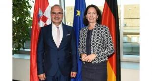 Veleposlanik Gordan Grlić Radman i savezna ministrica Katarina Barley