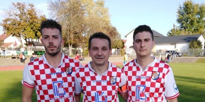 Franjo Ćurković,  Stjepan Zečević i Boban Bogoevski / Foto: Fenix Magatin -J. Mijić