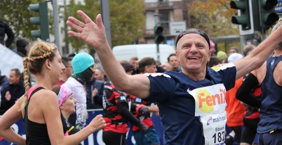 Eduard Tokić prošle je godine startao u prvoj skupini trkača Frankfurtskog maratona / Foto: Fenix