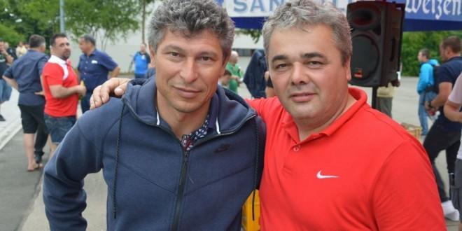 Krasimir Balakov i jedan od trenera Croatije Reutlingen Marin Vulić