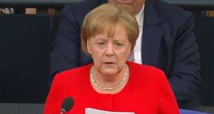 Angela Merkel/Foto: Screenshot