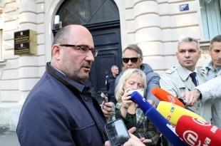Milijan Brkić izišao je iz prostorija USKOK-a/Foto: Hina