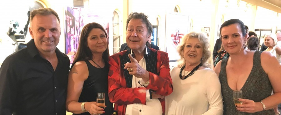 "Charles Billich u Sydneyu otkrio svoje novo remek-djelo ""Hommage to Dali"""