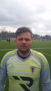 Vratar Pajdi Dejan Grmača / Foto: Fenix (I.Barišić)