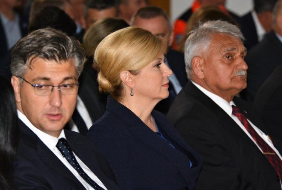 Plenković o izjavi Grabar-Kitarović i Bandiću: Vjerujem da se predsjednica šalila