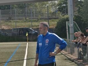 Trener Croatije Danijel Konta i prije zadnje utakmice je odnio ostavku / Foto: Fenix (Stanislav Konta)