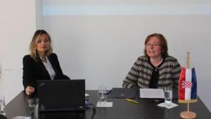 Tatjana Tošić i konzulica Klaudija Aljinović / Foto: Fenix
