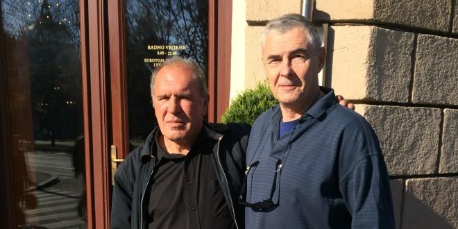 Ivan Lozo i general Željko Glasnović u Zagrebu / Foto: Fenix